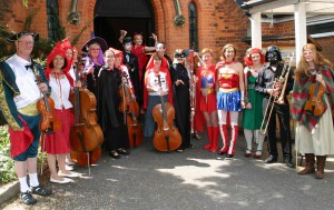 SASO musicians dress to impress for the children's concerts